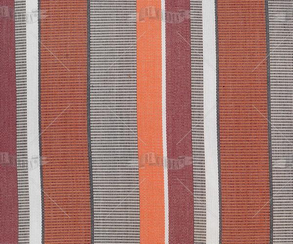 Pillow rettangolare Righe Arancio - 2